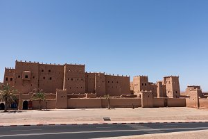 Kasbah Taourirt in Morocco