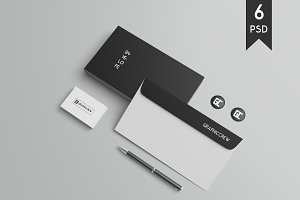 Stationery / Branding Mockups Vol. 2
