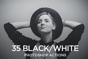 Black & White Creative Actions