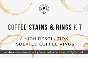 Coffee Stains & Rings Kit