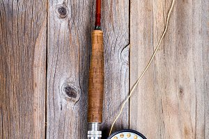 Vintage Fly Fishing Equipment