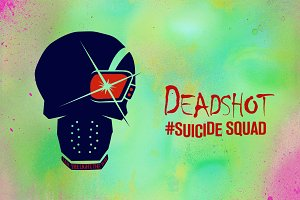 Deadshot Suicide Squad Vector Icon