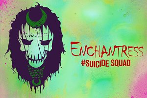 Enchantress Suicide Squad Vector