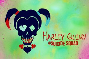 Harley Quinn Suicide Squad Vector