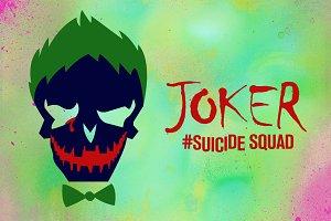 Joker Suicide Squad Vector Icon