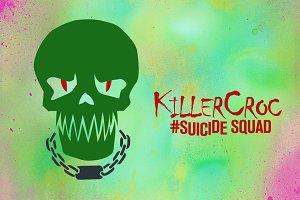Killer Croc Suicide Squad Vector