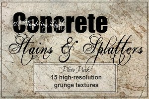 Concrete with Grunge Textures
