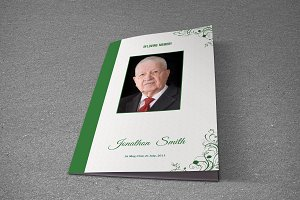 Funeral Program Template-T586