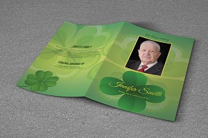 Funeral Program Template-T587