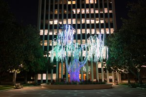LED Tree Art