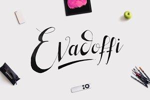 Evadoffi Typeface
