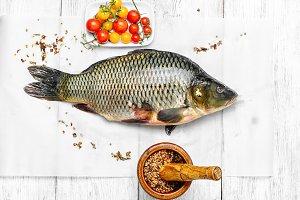 Cooking fresh carp