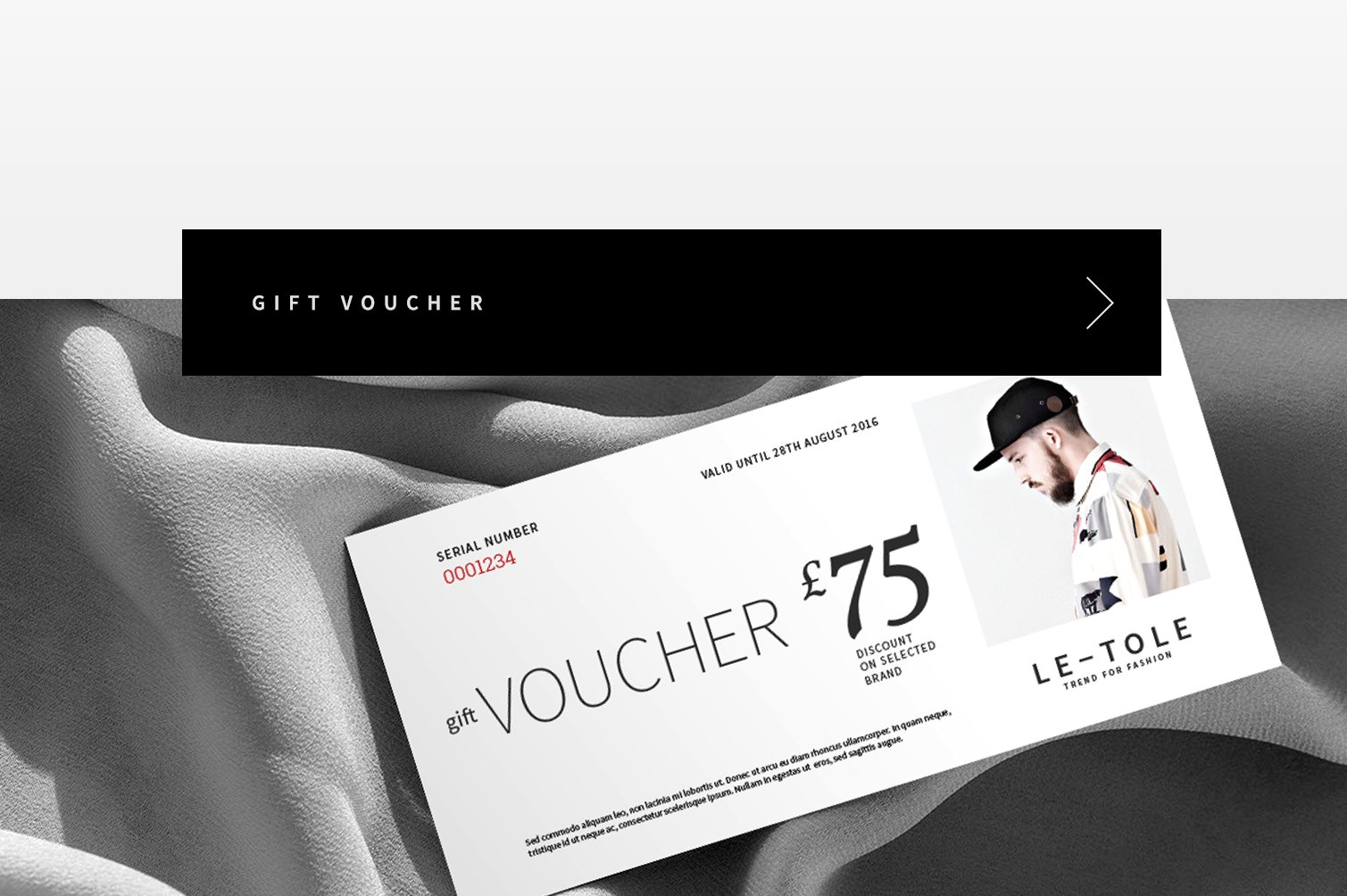 Fashion Gift Voucher ~ Card Templates ~ Creative Market