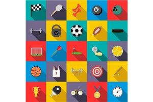 Sports set icons