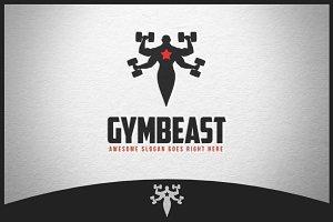 Gymbeast Logo