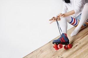 sport style woman