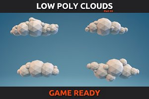 Low Poly Clouds Part 3