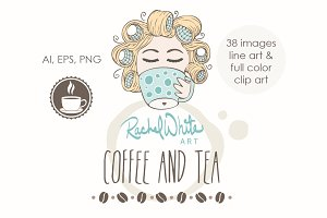Coffee & Tea, Vector & PNG