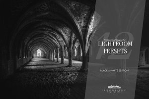 12 Lightroom Presets: Black & White