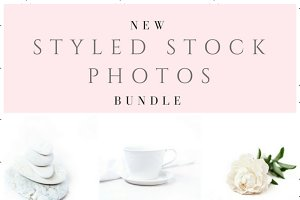 Styled stock photos - White on White