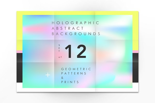 Holographic backgrounds + patterns