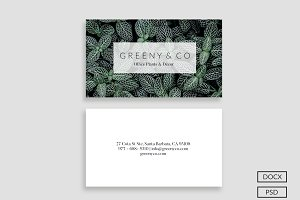 Greeny Business Card