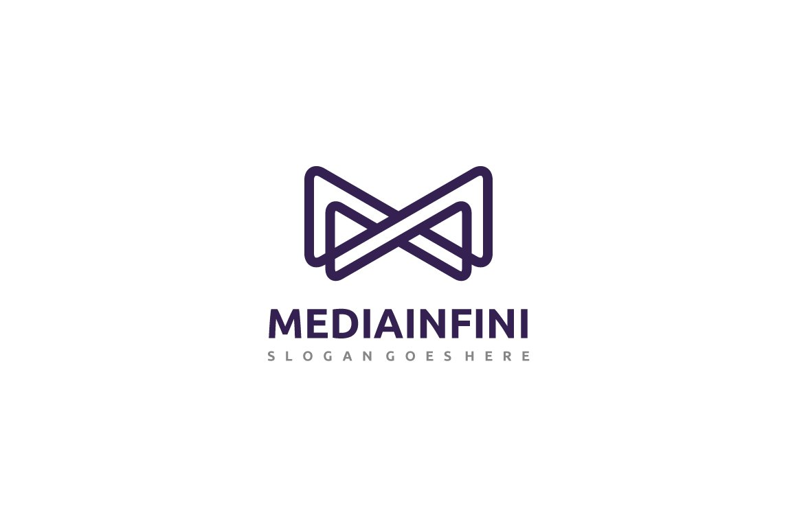 Media Infinity Logo ~ Logo Templates ~ Creative Market