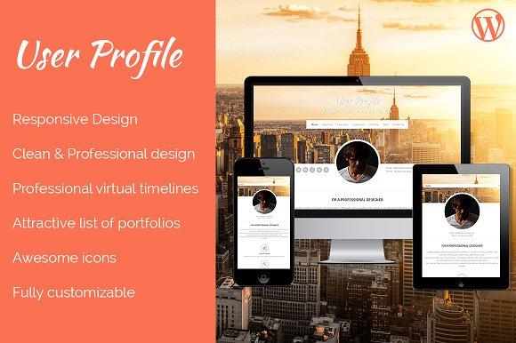 Profile WordPress Theme