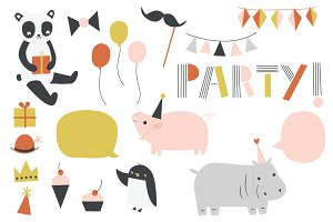 Party Animal | Clip Art