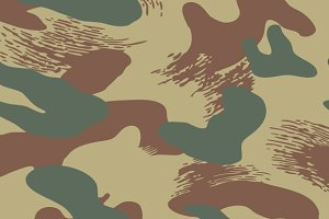 Belgium Brushstroke Camouflage