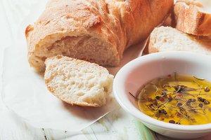 Ciabatta italian bread