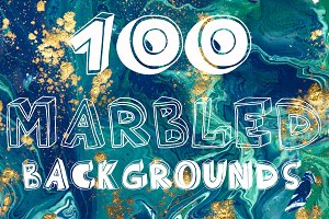 100 marbling liquid backgrounds