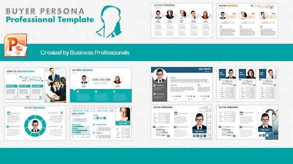 Buyers Persona Big Pack ~ Presentation Templates ~ Creative Market