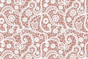 2 Lacy seamless vector patterns