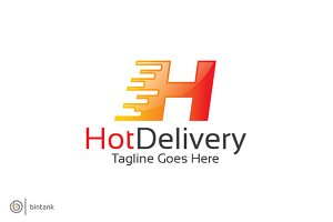 H Logo- Hot Delivery