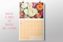 2017 Printable Wall Calendar