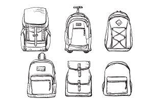 Backpack sketch