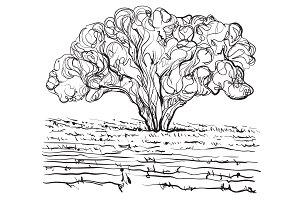 Doodles tree