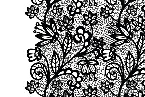 Lacy vector elegant collection