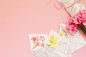 Floral Romantic Envelopes