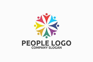 people logo logo templates creative market
