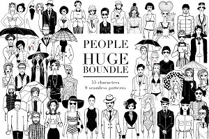 People boundle