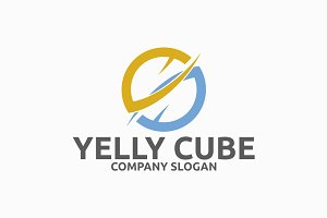 Yelly Cube Logo