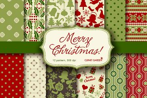 Christmas papers pack