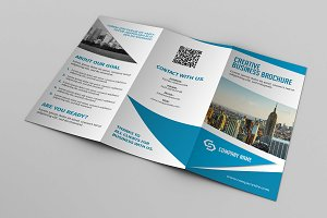 Trifold Business Brochure-V588
