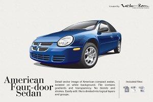 American Four-door Sedan