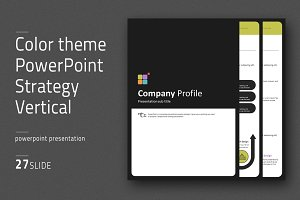 Color theme PowerPoint Vertical