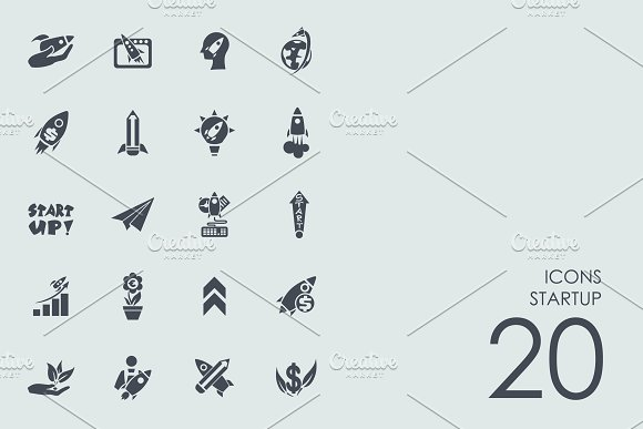 Startup icons in Graphics