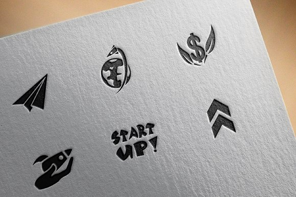 Startup icons in Graphics - product preview 3