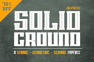 Solid Ground - 75% off
